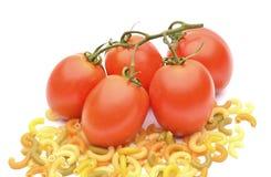 束新鲜的蕃茄 图库摄影