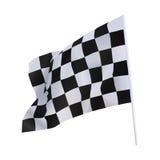 结束旗子 免版税库存图片