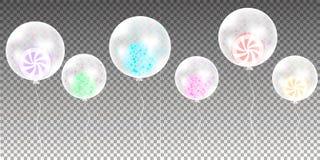 束气球 免版税库存照片