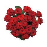 束红色玫瑰 免版税图库摄影