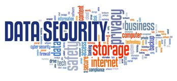 束缚被包裹的概念常规复制数据设计设备hdd被锁定的挂锁权利被巩固的安全空间 库存例证