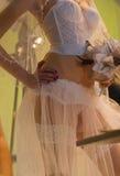 束腰婚礼 库存图片