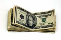 束起货币 免版税库存照片