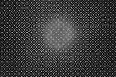 黑结束金属板背景 免版税库存图片