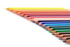 束铅笔 免版税图库摄影