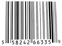 条形码 免版税库存照片