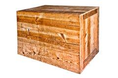 条板箱责任大量老发运木头 免版税库存图片