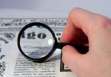 条款读取 免版税库存照片