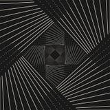 条纹与跨过对角稀薄的线的传染媒介样式在方形的形状 库存图片