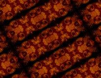 条纹华丽装饰的背景 免版税库存图片