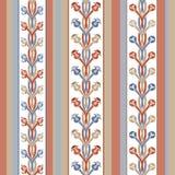 条纹和装饰品的样式 免版税图库摄影