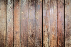 条纹图形褐色wal板条的木头 免版税库存图片