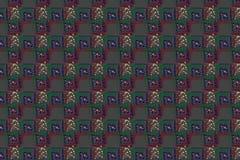 条纹的抽象样式无缝的背景  免版税库存图片
