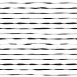 条纹的难看的东西无缝的样式 库存照片