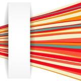 条纹背景。您的企业介绍的例证。 库存图片