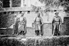 条顿人命令的城堡在马尔堡 免版税库存照片
