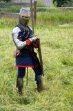条顿人的骑士 图库摄影