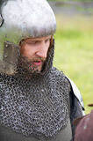 条顿人的骑士 免版税库存图片