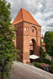 条顿人骑士城堡在托伦 免版税库存照片