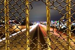 5条高速公路桥梁 库存照片