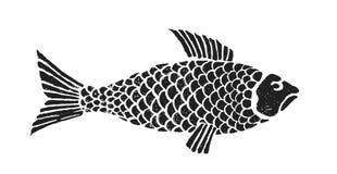 1条鱼 免版税库存照片