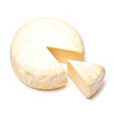 来回干酪法国的reblochon 免版税库存照片