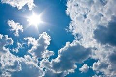 来太阳 免版税库存图片