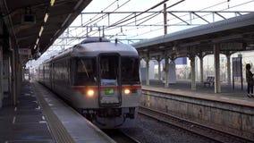 来的火车驻地在高山市,日本 股票视频