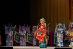 """杨家庭北京Opera""""杨Family†的妇女将军的妇女将军 库存图片"""