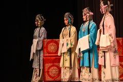 """杨Family†的了不起的北京Opera""""夫人妇女将军 库存图片"""
