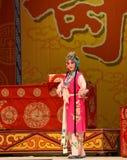 """杨Family†的俏丽的佣人北京Opera""""妇女将军 库存图片"""
