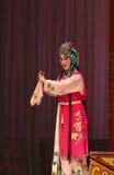 """杨Family†的可爱的佣人北京Opera""""妇女将军 图库摄影"""