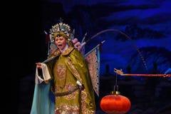 """杨Family†的女性法警北京Opera""""妇女将军 免版税库存图片"""