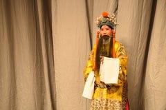 """杨Family†的宋朝北京Opera""""妇女将军的皇帝 库存图片"""