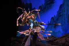 """杨Family†的杨Qiniang-北京Opera""""将军妇女将军 库存照片"""