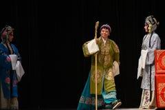 """杨Family†的硬朗和热诚的老妇人北京Opera""""妇女将军 库存图片"""