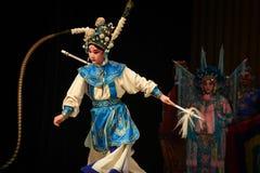 """杨Family†的野鸡尾巴北京Opera""""妇女将军 免版税库存图片"""