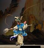 """杨Family†的野鸡尾巴北京Opera""""妇女将军 库存图片"""