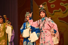 """杨Family†的年轻人北京Opera""""妇女将军 库存照片"""