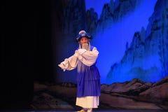 """杨Family†的更老的rhizotomist-北京Opera""""妇女将军 免版税库存图片"""