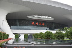 杭州东火车站 库存照片