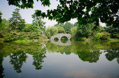 杭州公园 免版税库存图片