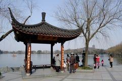 杭州西湖吸引力 免版税库存图片