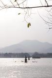 杭州西湖,中国 库存照片