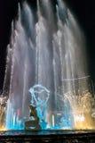 杭州阐明了修造的Wishan广场 免版税库存图片