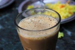 杯印地安茶 免版税库存照片