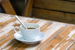 杯和咖啡 免版税库存照片