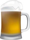杯啤酒 免版税库存图片