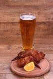 杯啤酒 库存照片
