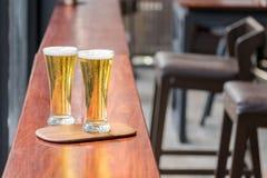 杯啤酒 免版税库存照片